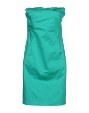 Короткое платье CARLA G.. Цвет: зеленый