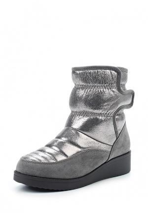 Дутики Ideal Shoes. Цвет: серый
