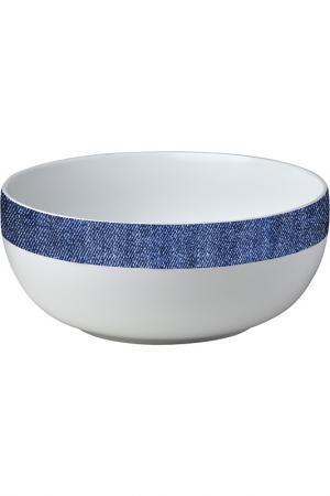 Салатник Bitossi. Цвет: синий