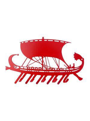 Ключница Gala.. Цвет: красный