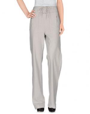 Повседневные брюки INTROPIA. Цвет: белый