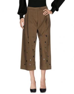 Повседневные брюки ALYSI. Цвет: зеленый-милитари