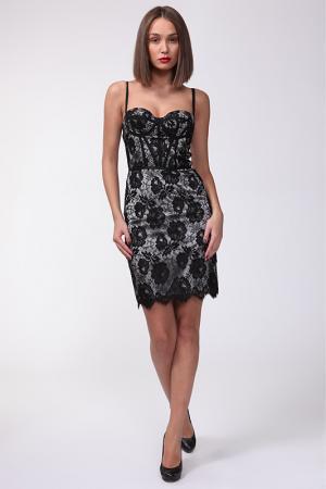 Платье Dina Bar-El. Цвет: серый