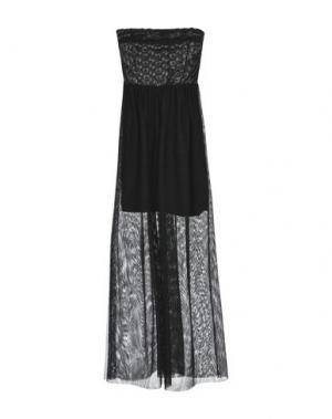 Длинное платье NÖE. Цвет: черный