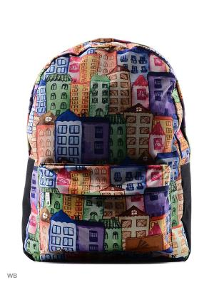 Рюкзак ПодЪполье. Цвет: голубой, фиолетовый, оранжевый, розовый, зеленый