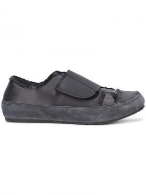 Кроссовки с ремешками Pedro Garcia. Цвет: серый