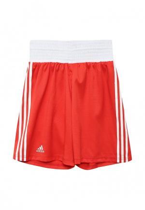 Шорты спортивные adidas Combat. Цвет: красный