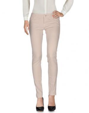 Повседневные брюки SOUVENIR. Цвет: голубиный серый