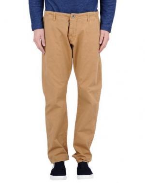 Повседневные брюки REIGN. Цвет: верблюжий