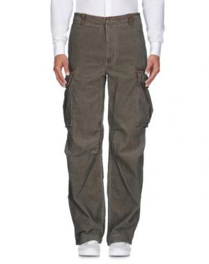 Повседневные брюки POLO JEANS COMPANY. Цвет: зеленый-милитари