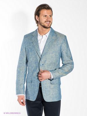 Пиджак Berkytt. Цвет: серо-голубой