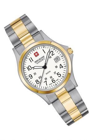 Watch Swiss military. Цвет: white, silver, gold