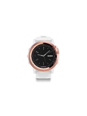 Часы GARMIN 010-01338-51 (Fenix 3 Sapphire золотой с белым ремешком). Цвет: белый