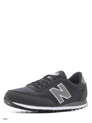 Кроссовки NEW BALANCE 410. Цвет: черный