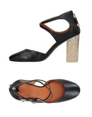 Туфли WHAT FOR. Цвет: черный