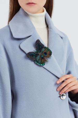 Брошь Бабочка Менелаус PLANKT.ON. Цвет: multicolor