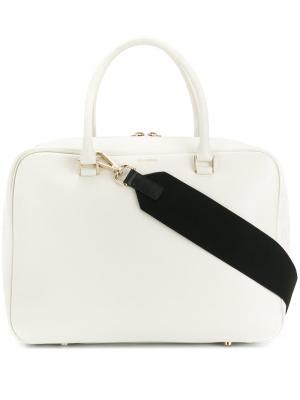 Большая сумка-тоут Jil Sander. Цвет: белый
