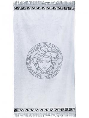 Пляжное полотенце Medusa Versace. Цвет: чёрный