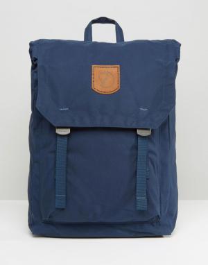 Fjallraven Темно-синий рюкзак объемом 16 литров No. 1. Цвет: темно-синий
