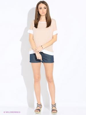 Блузка MEXX. Цвет: кремовый