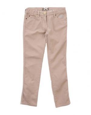Повседневные брюки MINIFIX. Цвет: бежевый