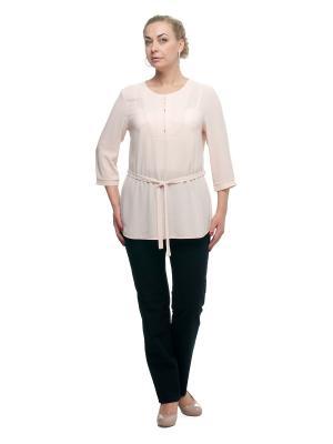 Блуза OLSI. Цвет: молочный