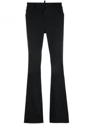 Расклешенные брюки Ski с пятью карманами Dsquared2. Цвет: чёрный