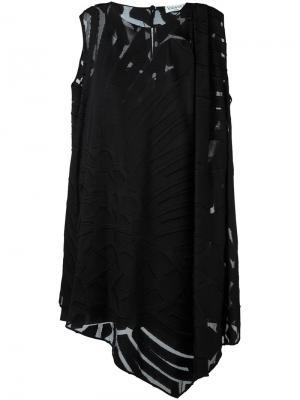 Платье мини Vionnet. Цвет: чёрный