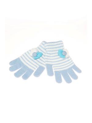 Перчатки Shapkoff. Цвет: светло-голубой