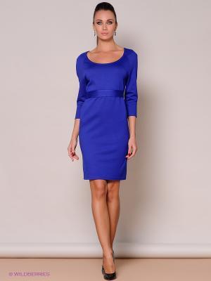 Платье Stets. Цвет: синий