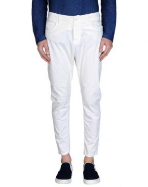Повседневные брюки MANILA GRACE. Цвет: слоновая кость