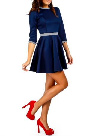 Платье Moe. Цвет: navy