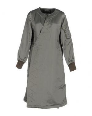 Легкое пальто ZUCCA. Цвет: зеленый-милитари