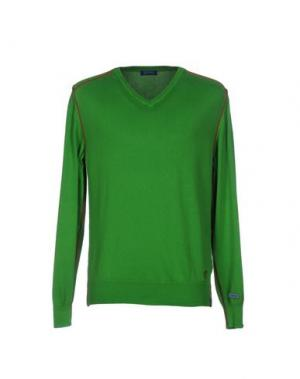 Свитер DIMATTIA. Цвет: зеленый