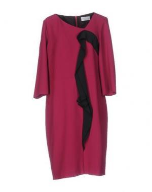 Платье до колена CALALUNA. Цвет: фуксия