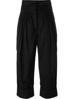 Укороченные брюки JW Anderson. Цвет: чёрный