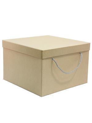 Коробка картонная 30х30х20 см VELD-CO. Цвет: коричневый