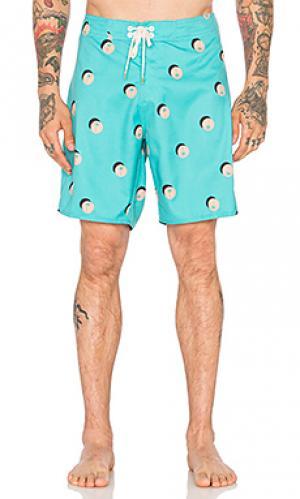 Плавательные шорты palmero Ambsn. Цвет: зеленый