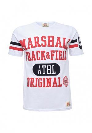 Футболка Marshall Original. Цвет: белый