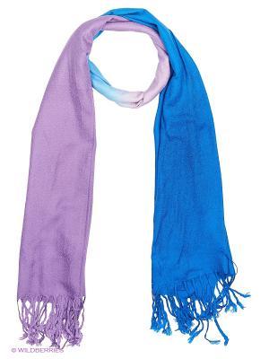 Платок Vittorio Richi. Цвет: синий, фиолетовый