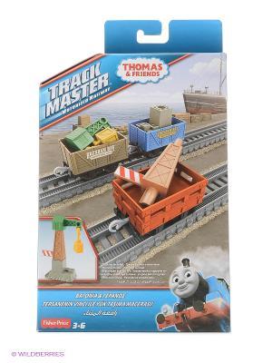 Thomas TM Набор из трех грузовых вагонов & FRIENDS. Цвет: зеленый, коричневый