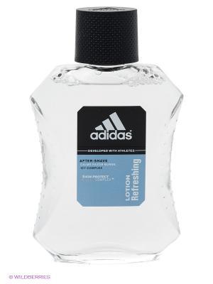 Лосьон после бритья adidas Skin Protect Refreshing освежающий для мужчин 100 мл. Цвет: прозрачный