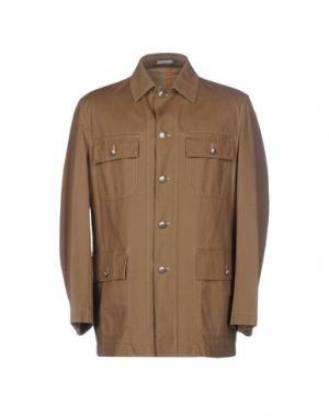 Куртка PAOLONI. Цвет: хаки