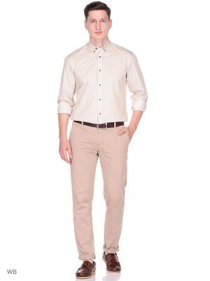 Рубашка LAVISHY. Цвет: коричневый