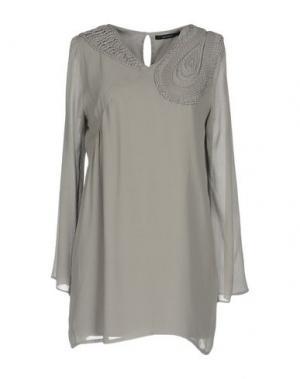 Короткое платье SITA MURT/. Цвет: серый