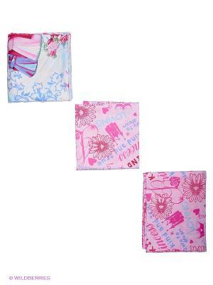 Комплект постельного белья Василек. Цвет: розовый