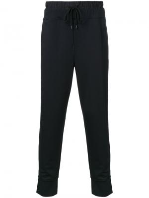 Спортивные брюки на шнурке Public School. Цвет: чёрный
