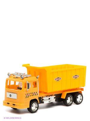 Машинка строительная инерционная Globo. Цвет: оранжевый