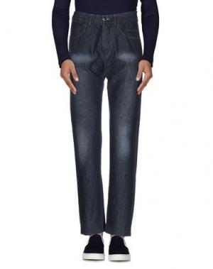 Джинсовые брюки U-NI-TY. Цвет: синий