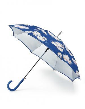 Зонт-трость автомат Облака  by Fulton Cath Kidston. Цвет: без цвета